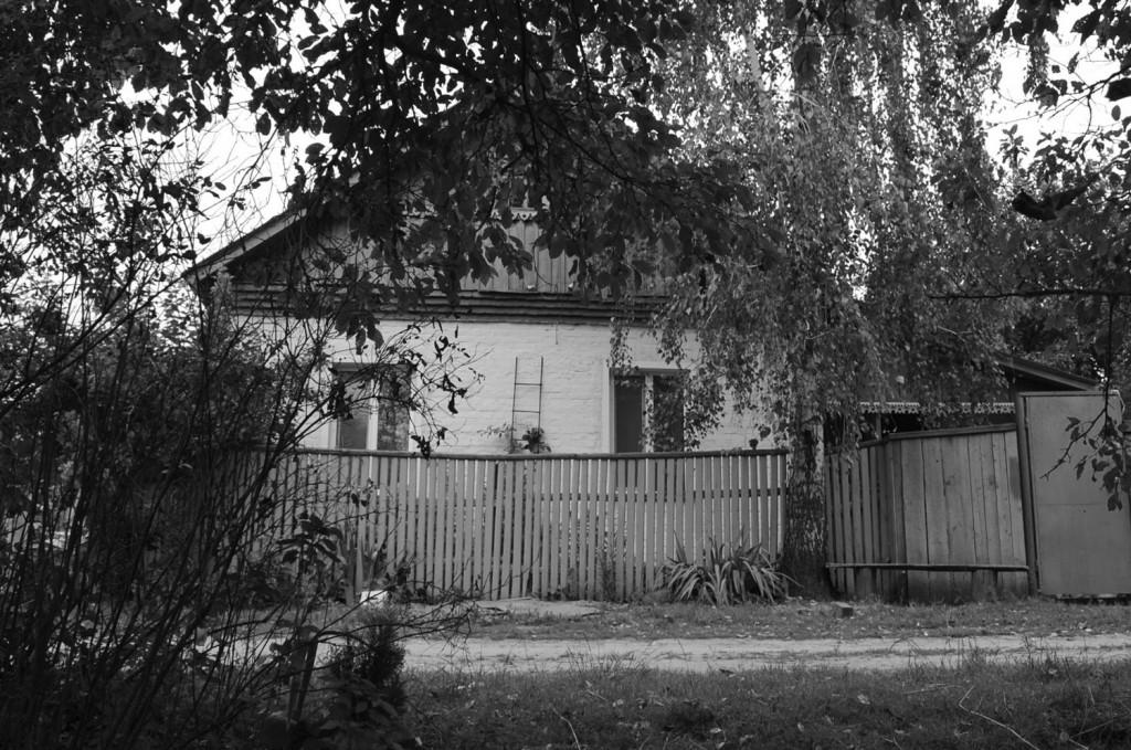 Бацькоўскі дом у вёсцы Заспа