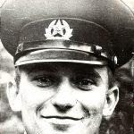 Сяржук Сыс. Фота Алеся Бяляцкага. Лехтусі, 1981 год